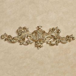 Warrington Decorative Wall Topper Gold