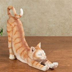 Sox Cat Sculpture Orange
