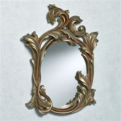 Alise Wall Mirror Burnished Silver