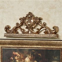 Earlene Wall Topper Baroque Gold