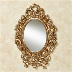 Eileen Rose Wall Mirror Gold