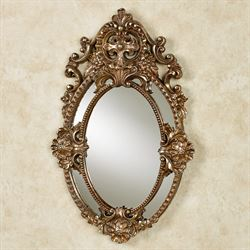 Deidra Wall Mirror Italian Gold