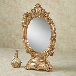Aurelie Vanity Mirror Champagne Gold