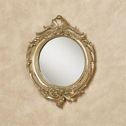 Fitzroy Accent Wall Mirror Antique Gold