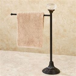 Door Knob Towel Holder Dark Brown