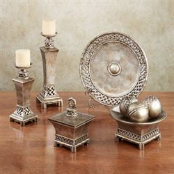 Landrum Decorative Home Accents Bronze Set of Nine