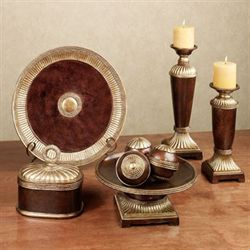 Azle Decorative Home Accents Bronze Set of Nine
