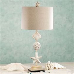 Cape Coral Table Lamp Sand Each with CFL Bulb