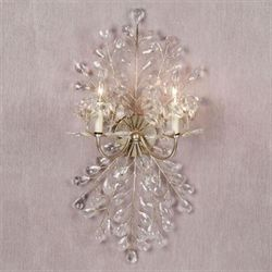 Anneliese Leaf Wall Sconce Champagne Gold