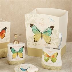 Butterfly Bliss Lotion Soap Dispenser Sage