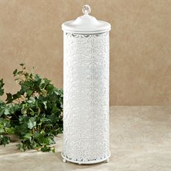 Lace Design Toilet Tissue Holder