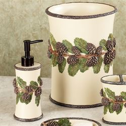 'Pinehaven Lotion Soap Dispenser Beige' from the web at 'https://www.touchofclass.com/images/ml/F764-001.jpg'