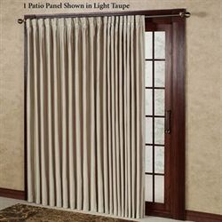 Artisan Box Pleated Patio Panel 112 x 84