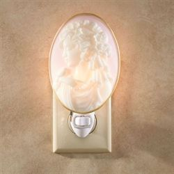 Lady Cameo Nightlight Multi Pastel