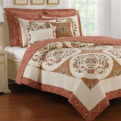 Durham Quilt Light Cream