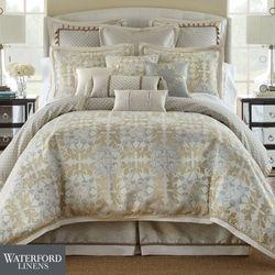 Olivette Comforter Set Ecru