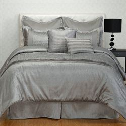 Ontario Comforter Bed Set Dark Gray