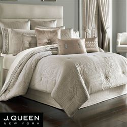 Wilmington Comforter Set Beige