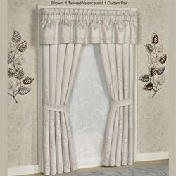 Wilmington Curtain Pair Beige 98 x 84