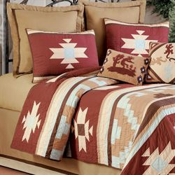 Canyon Dance Earth Tailored Bedskirt Tan