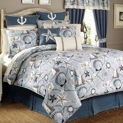 Yachtsman Comforter Set Celestial Blue