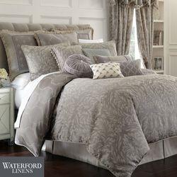 Montaigne Comforter Set Charcoal
