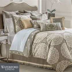Darcy Comforter Set Pewter