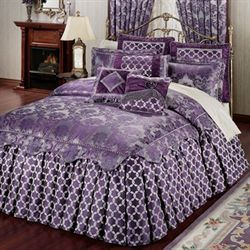 Renaissance Grande Bedspread Grape