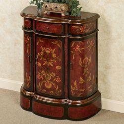 Annetta Storage Cabinet Rich Mahogany