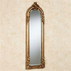 Royal Acanthus Panel Wall Mirror Gold