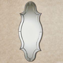 Zinnia Wall Mirror Panel Silver