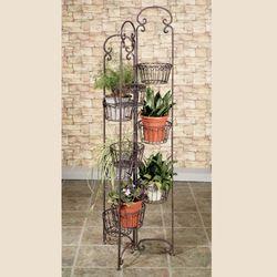 Zaria Plant Stand Tuscan Slate
