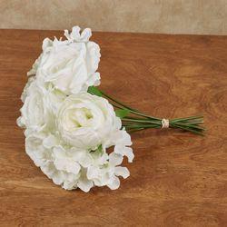 Summer Flower Bouquet White