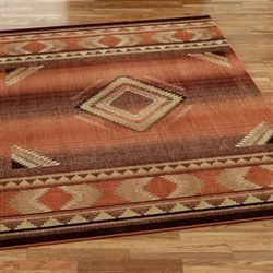 Rio Rancho Rectangle Rug Copper