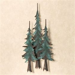 Whispering Pines Metal Wall Sculpture