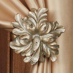 Vilayna Curtain Tieback Pair Silver Gold