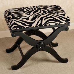 Zende Zebra Bench