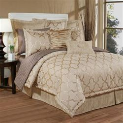 Quartz Comforter Set Beige
