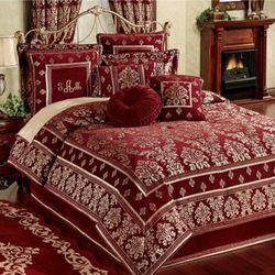 Dynasty Comforter Set Merlot