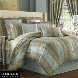 Hemmingway Comforter Set Sterling Blue