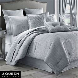 Wilmington Chrome Comforter Set