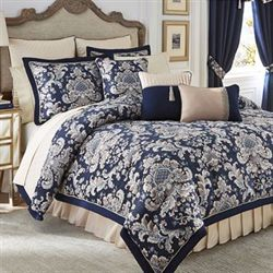 Croscill Imperial Comforter Set Indigo