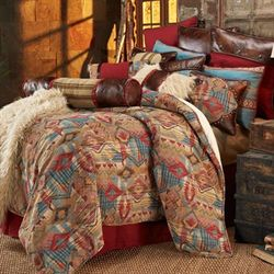 Ruidoso Comforter Set Multi Warm