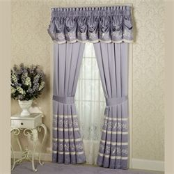 Pirouette Tailored Curtain Pair
