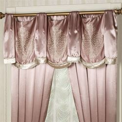 Keepsake Lace Tailored Swag Valance