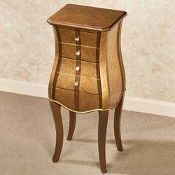 Moderne Elegante Storage Cabinet Gold