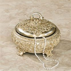 Polianna Decorative Box Silver