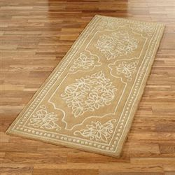 Golden Lace Runner Rug 3 x 8