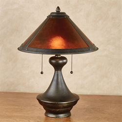 Donovyn Table Lamp Bronze Each with LED Bulbs