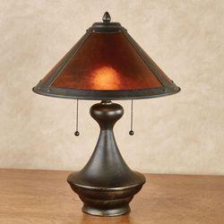 Donovyn Table Lamp Bronze Each with LED Bulbs